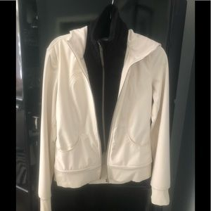 Lululemon Zip Jacket with Removable Dickey